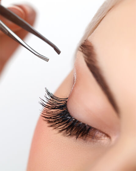 home-eyelash extension